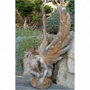ENGEL ATHENE aus STEINGUSS FROSTFEST ENGELFIGUR GARTENFIGUR NEUHEIT V-118101R