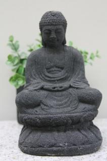 BUDDHA LAVASTEINGUSS FIGUR zur DEKORATION FIGUREN ASIATISCH GARTEN DEKO YIA-01