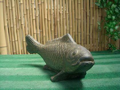 Steinfigur Fisch, Figur aus Steinguss - Vorschau 2