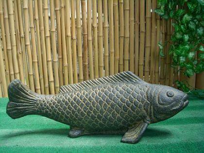 Steinfigur Fisch, Figur aus Steinguss - Vorschau 1