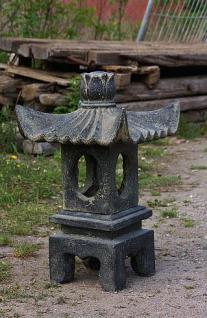Steinfigur Pagode, asiatische Laterne aus Steinguss, 70 cm hoch - Vorschau 2