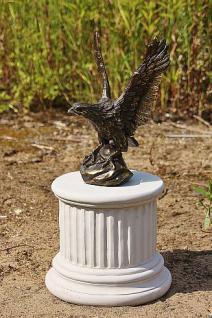 Bronzefigur Adler, Greifvogel aus Bronze - Vorschau 2