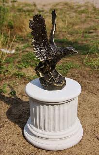 Bronzefigur Adler, Greifvogel aus Bronze - Vorschau 5