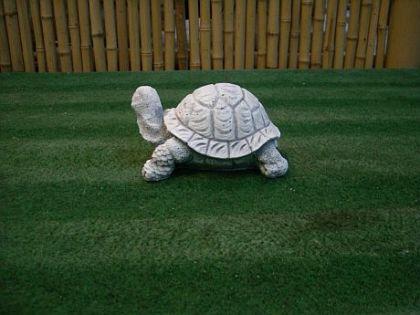 Steinfigur Schildkröte, Figur aus Steinguss, Tierfigur, Steinfigur