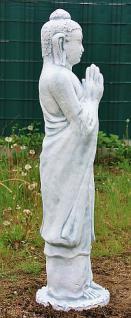 Steinfigur Buddha stehend Steinguss 112 cm H - Vorschau 3