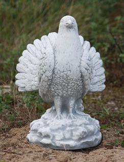 Steinfiguren Fächertaube, Tierfigur aus Steinguss Taube Vogel Vögel