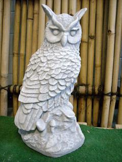 Steinfigur Eule aus Steinguss Eulen Vogel Vögel - Vorschau