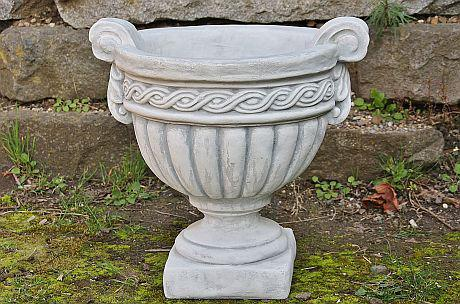 Steinfigur Amphore 45 cm hoch