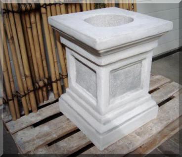 Steinfigur Großer Sockel, 60 cm hoch, 45cm x 45cm Stellfläche, Neu, Frostfest - Vorschau 2