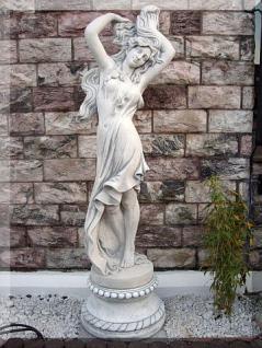 Steinfigur Frauen Skulptur mit Sockel 186 cm Hoch