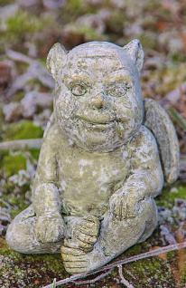Steinfigur Dämonen Set, Zwei Figuren, Dekoration für Garten & Terrasse - Vorschau 2