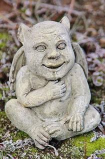 Steinfigur Dämonen Set, Zwei Figuren, Dekoration für Garten & Terrasse - Vorschau 3