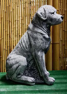 Steinfiguren Rottweiler, Tierfigur aus Steinguss, Hund, Hundefigur, Hunde