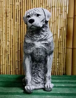 Steinfiguren Rottweiler, Tierfigur aus Steinguss, Hund, Hundefigur, Hunde - Vorschau 2