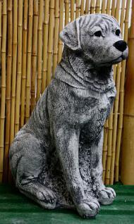 Steinfiguren Rottweiler, Tierfigur aus Steinguss, Hund, Hundefigur, Hunde - Vorschau 3