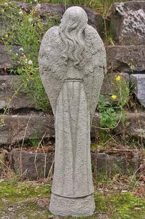 Steinfigur Engel Rose, Engelsfigur aus Steinguss, Dekoration - Vorschau 3