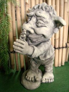 Steinfigur Troll Spitzbube, Figur aus Steinguss - Kaufen bei ...