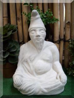 Steinfigur Zwuddha, der meditierende Gartenzwerg, Das Original - Vorschau 2