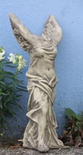 NIKE GÖTTIN des SIEGES GRIECHISCH RÖMISCH SKULPTUR STEINGUSS FROSTFEST V-8080