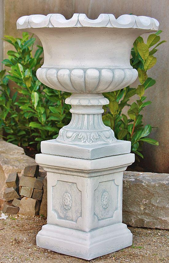 Amphore mit Sockel für Garten Garten Garten   2 Teile 921b70