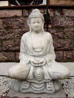 Steinfigur Buddha 93 cm aus Steinguss Frostfest ! - Vorschau 1