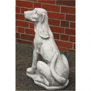 Hund Jagdhund Figur Aus Steinguss Für Garten Frostfest Figur Figuren Neu Ja-007 - Vorschau 2