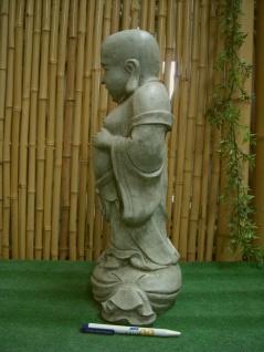 BUDDHA LACHEND SKULPTUR STEINGUSS TEICH FROSTFEST FIGUR NEU BUDDHAS SU-2008