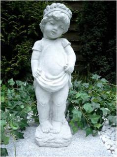 Steinfigur Sterntaler Mädchen Skulptur