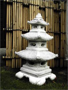 Steinfiguren Laterne aus Steinguss