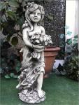 Steinfigur Frühlingsfee, Fee, Frühling, Jahreszeit