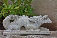 Chinesischer Drache für Garten, Handarbeit, Terrasse & Balkon