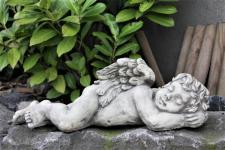 Steinfiguren Engel aus Steinguss