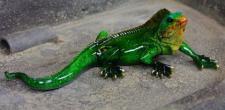 Leguan, Tierfigur zur Dekoration, Eidechse Echse Leguane