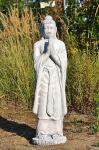 Steinfigur Buddha stehend Steinguss 112 cm H