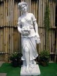 Steinfigur Vier Jahreszeiten (Herbst) , Skulptur aus Steinguss