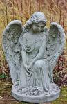 """Steinfigur Engel """" Ashi """", Engelsfigur aus Steinguss"""