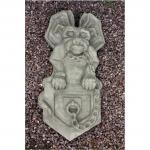 Steinfigur Wand Gargoyle, Figur aus Steinguss