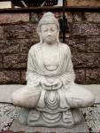 Steinfigur Buddha 90 cm aus Steinguss Frostfest !