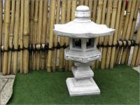 Steinfigur Yukimi Laterne, aus Steinguß