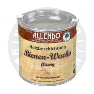 Bienenwachs flüssig 750 ml Dose Farbe: natur