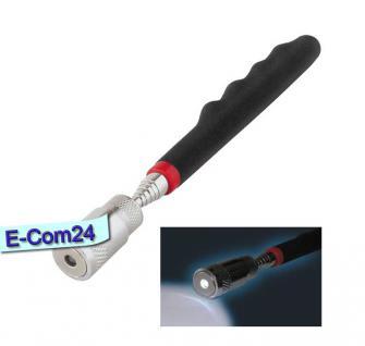 Teleskop Pick-Up Werkzeug mit LED Länge 195mm, Zugkraft ca. 3,2kg