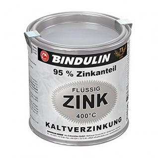 Bindulin Flüssig-Zink 250 ml Dose Farbe: silber