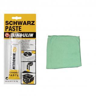 Bindulin Schwarzpaste 45 ml Tube incl. Microfasertuch