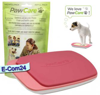PawCare® Medium Container inkl. 185 Gramm in rosa und 1x Refill 185 Set (Pfotenpflege) Paw Care