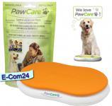 PawCare® Medium Container inkl. 380 Gramm in orange und 1x Refill 380 Nachfüllpack (Pfotenpflege)