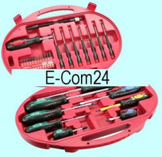 Werkzeugset für Computer und Elektronik, 42-tlg.