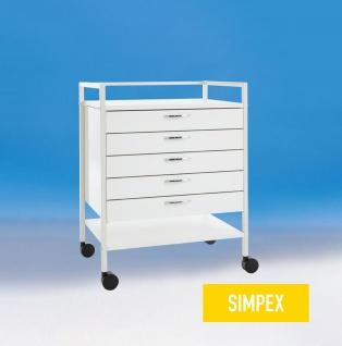 Gerätetisch 5 Schubladen