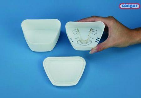 Dose für Zahnprothese