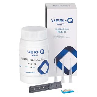VERI-Q MULTI Teststreifen Lipid, 10 St.