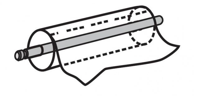 Papierrollenhalter Medi-Lux